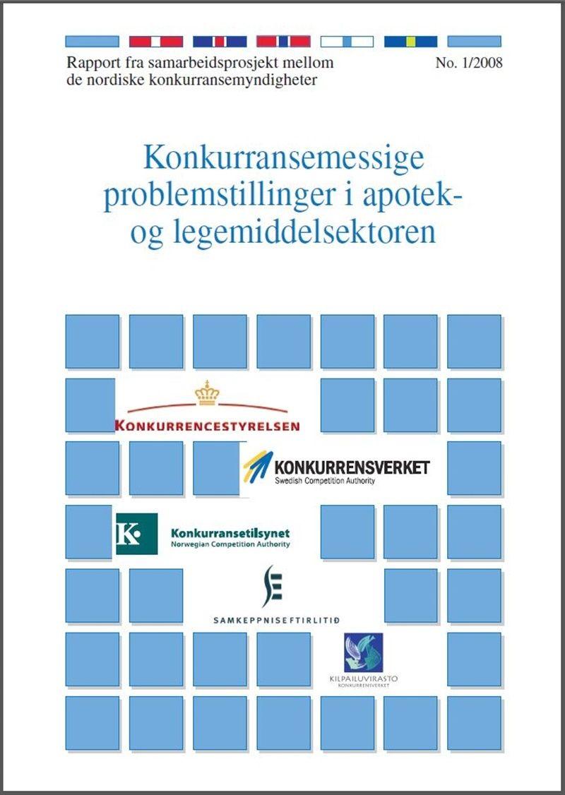 Nordisk apoteke rapport 2008.