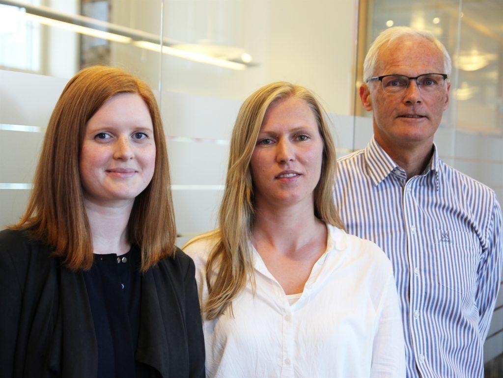 Forfattere av artikkel i MAGMA: Rådgiver Cathrine Evertsen, seniorrådgiver Marita Skjæveland og konkurransedirektør Lars Sørgard.