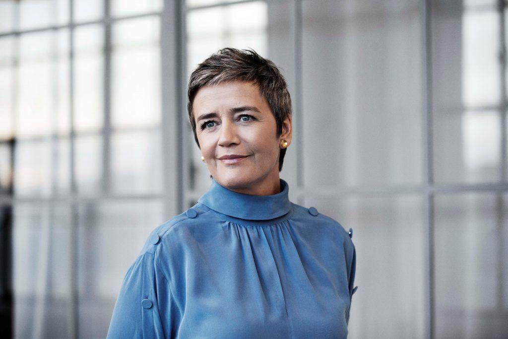 Portrettbilde av Margrethe Vestager.