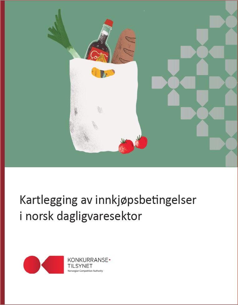 Rapportforside kartlegging av innkjøpsbetingelser i norsk dagligvaresektor