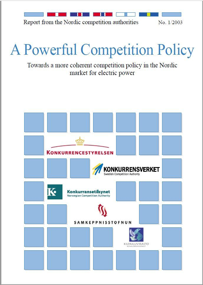 Forside rapport a powerful competition policy