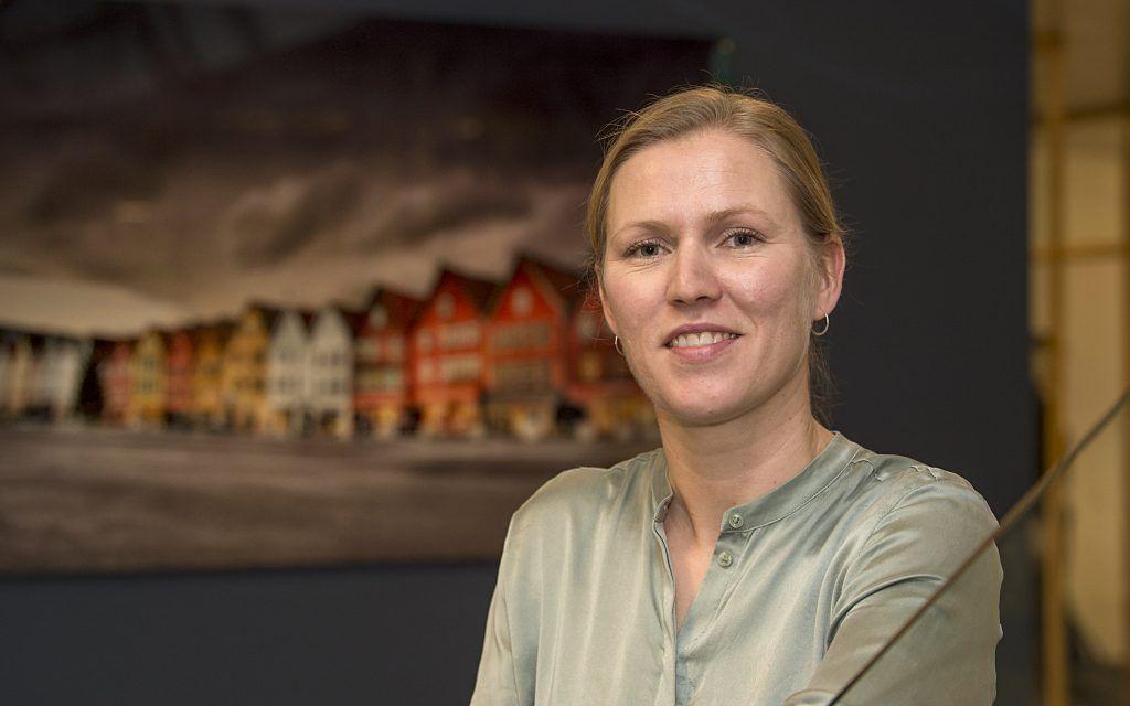 Portrettfoto av Marita Skjæveland som er nestleder ved avdeling for bygg, industri og energi i Konkurransetilsynet.