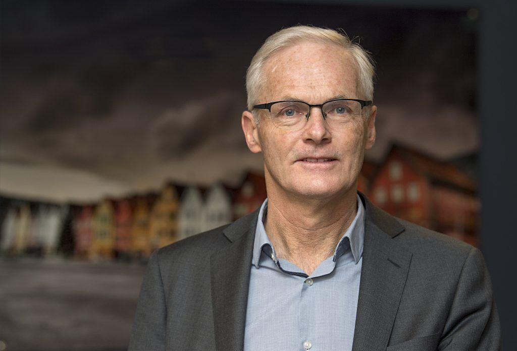 Portrettbilde av Lars Sørgard som er konkurransedirektør.