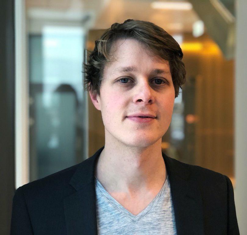 Portrettbilde av Martin Wessel som er økonom i Konkurransetilsynet.