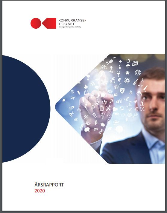 Forside årsrapport 2020